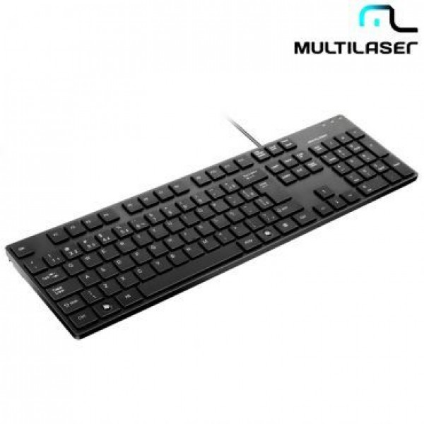 TECLADO USB MULTILASER TC142 SOFT TOUCH BASICO CHOCOLATE 8829