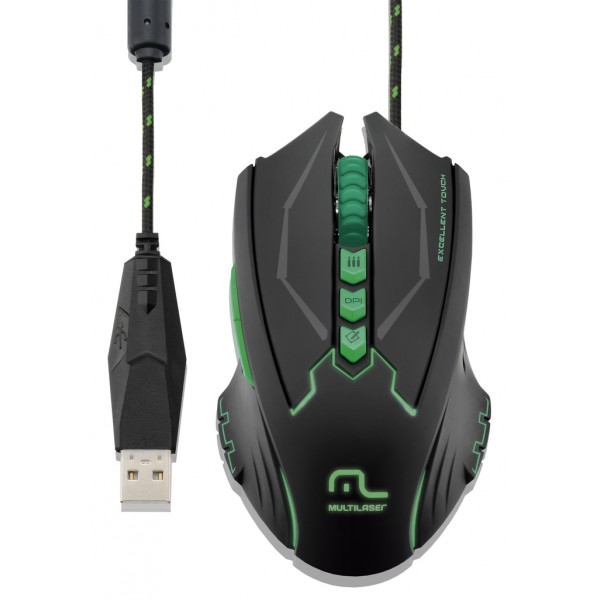 ST - MOUSE USB MULTILASER MO218 9065