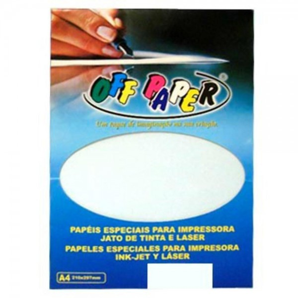 PAPEL A4 180GR OFFPAPER VERGE BC C/50 112