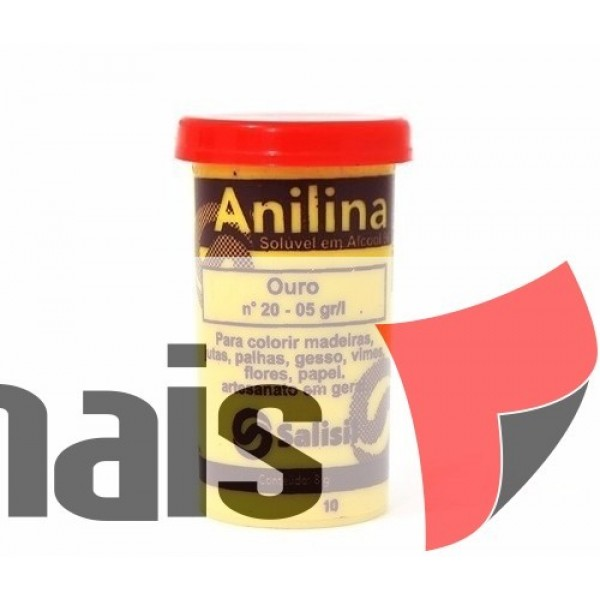 ST - ANILINA SALISIL 8GR OURO N.20 (P/12) 258
