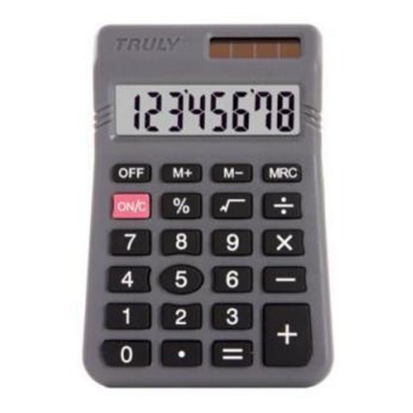 CALCULADORA TRULY BOLSO 8 DIGITOS 329 4696