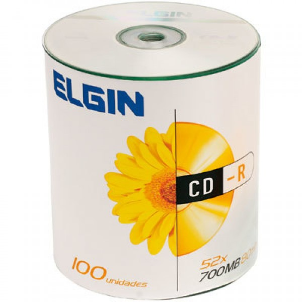 CD-R GRAV. ELGIN 80 MIN. 700 MB (P/100-M/600) 7703