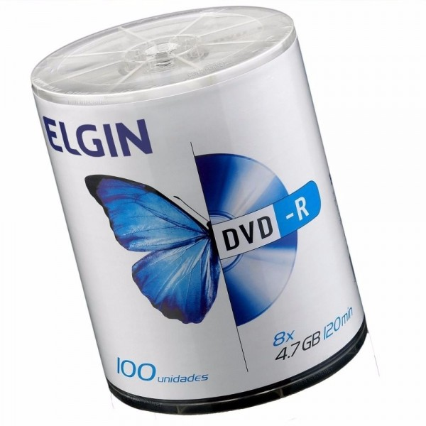 DVD-R ELGIN 120 MIN. 4.7 GB (P/100-M/600) 7704