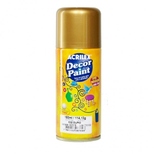 ST - TINTA SPRAY DECOR PAIT 532 OURO 2329
