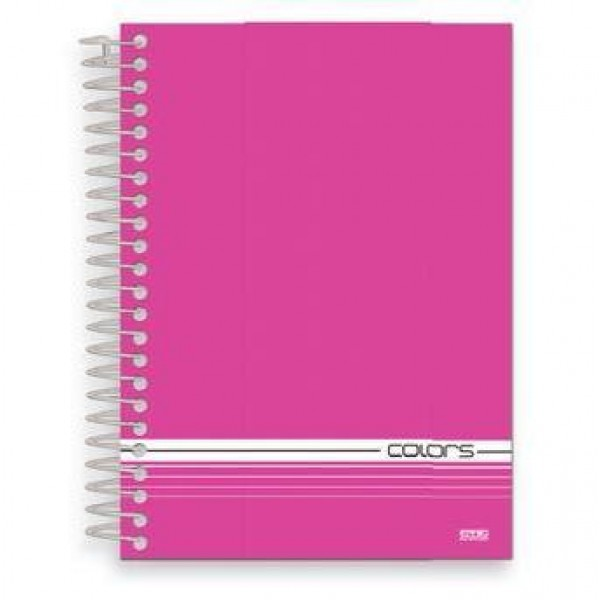 ST - CADERNO CD 1X1 96FL SD COLORS PINK (P/4) 8983-X