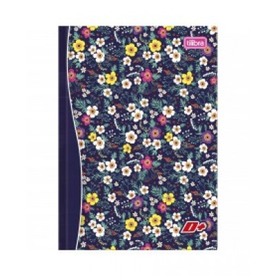 CADERNO BROCHURA CD 1/4 96FL TILIBRA D+ DECORADO (P/10-M/30) 10200